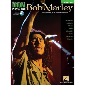 Drum Play Along Bob Marley Volume 25 + Audio Online