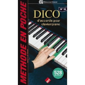 DICO d'accords pour Clavier / Piano