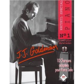 Jean Jacques Goldman Piano 1 + CD