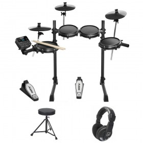 PACK ALESIS TURBO MESH KIT + SIEGE + CASQUE + BAGUETTE
