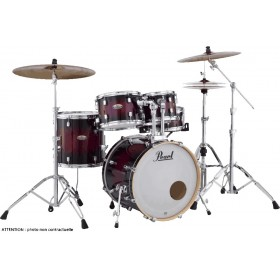 "PEARL Decade Maple Fusion 20"" Gloss Deep Red Burst"
