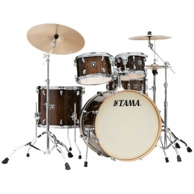 "TAMA SUPERSTAR CLASSIC MAPLE 22"" Gloss Java Lacebark Pine + Hardware"