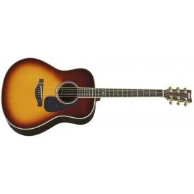 YAMAHA LL6 ARE BROWN SUNBURST