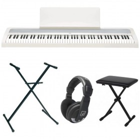 PACK KORG B2 Blanc + Stand + Banquette + Casque