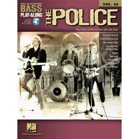 Bass Play Along The Police Volume 20 + Audio Online