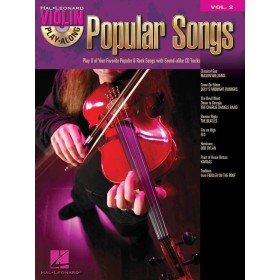 Violin Play Along Popular Songs Volume 2 + CD