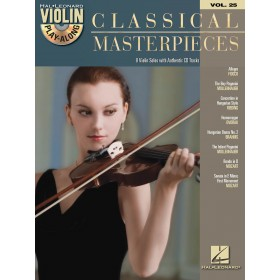 Violin Play Along Classical Masterpieces Volume 25 + CD