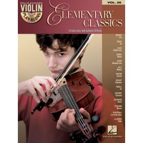 Violin Play Along Elementary Classics Volume 26 + CD