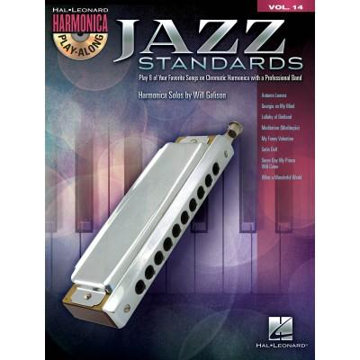 Harmonica Play Along Jazz Standard Volume 14 + CD