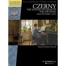 CZERNY The School of Velocity Op 299