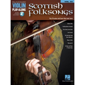Violin Play Along Scottish Folksongs Volume 54 + Online Audio