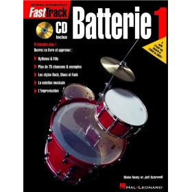 FastTrack Batterie 1 + CD