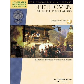 BEETHOVEN SELECTED PIANO WORKS + Audio Access