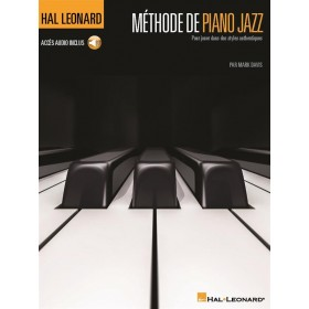 METHODE DE PIANO JAZZ + AUDIO ONLINE