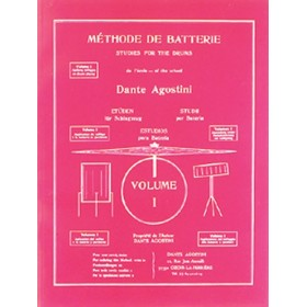AGOSTINI METHODE DE BATTERIE VOLUME 1
