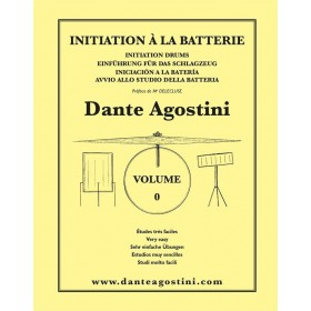 AGOSTINI METHODE DE BATTERIE VOLUME 0