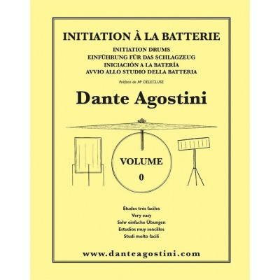 AGOSTINI METHODE DE BATTERIE VOL.0