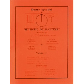 AGOSTINI METHODE DE BATTERIE VOLUME 4