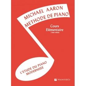 Michael AARON Méthode de Piano Cours Elémentaire Volume 2