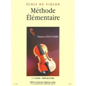 Méthode Elementaire Volume 1 Violon Maurice Hauchard