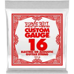 ERNIE BALL Corde Electrique ou Acoustique 16