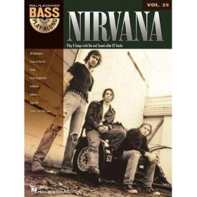 Bass Play Along Nirvana Volume 25 + CD