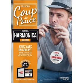 Coup de Pouce Méthode Débutant Harmonica