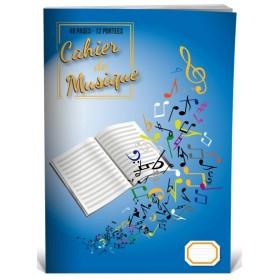 Cahier de Musique 12 Portées A4