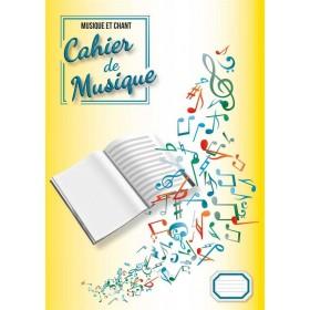 Cahier de Musique Mixte 12 Portées A4