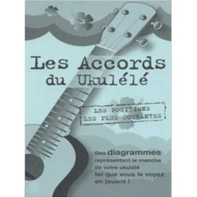 Mini dictionnaire d'accords ukulélé