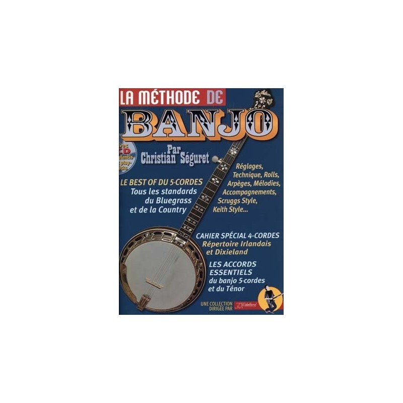 LA METHODE DE BANJO + CD REBILLARD