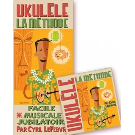 LA METHODE UKULELE + CD REBILLARD