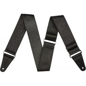 FENDER Sangle Tooled Leather Noir