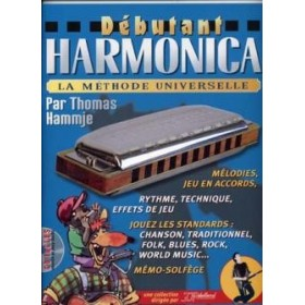 METHODE DEBUTANT HARMONICA + CD REBILLARD