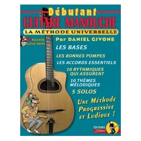 METHODE DEBUTANT GUITARE MANOUCHE + CD REBILLARD