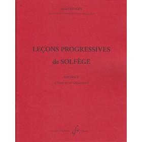 32 Leçons Progressives de Solfège Volume 2 Alain Grimoin