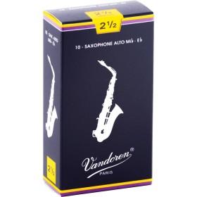 VANDOREN Anches Saxophone Alto Traditionnelles 2,5