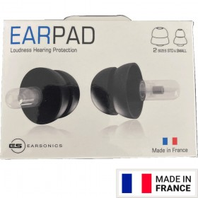 EARSONICS 1 Paire Earpad Universel Protecteur Auditif
