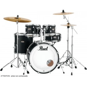 "PEARL DECADE MAPLE Jazz 18"" Satin Slate Black"
