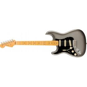 FENDER American Professional II Stratocaster Mercury Maple Gaucher