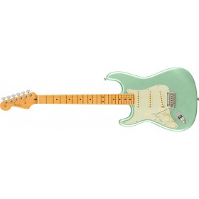 FENDER American Professional II Stratocaster Mystic Surf Green Maple Gaucher