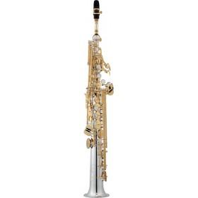 JUPITER JSS1100SGQ Saxophone Soprano Professionnel Plaqué Argent