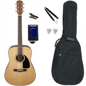 Pack Guitare Acoustique FENDER CD-60 Natural