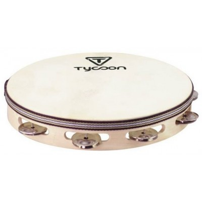 """TYCOON Tambourin 10"""" avec Cymbalettes"""