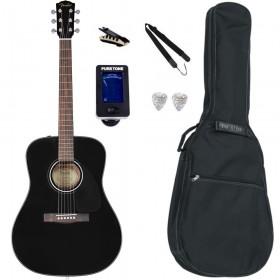 Pack Guitare Acoustique FENDER CD-60 Black
