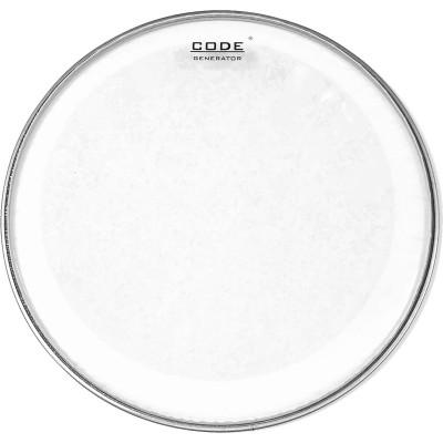 "CODE DRUMHEADS GENERATOR Transparente 16"""