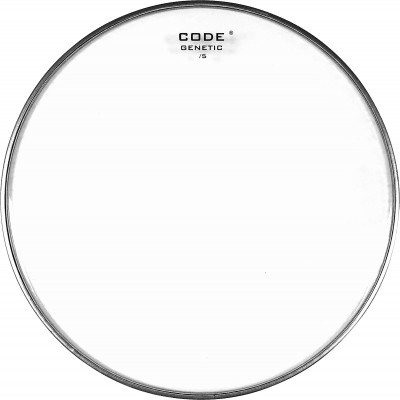 """CODE DRUMHEADS GENETIC Timbre 13"""" 5 mil"""