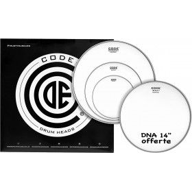 "CODE DRUMHEADS PACK GENERATOR Sablée 10""/12""/16""+ DNA 14"""