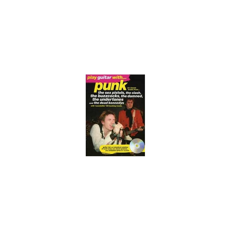 Play Guitar With Punk + CD