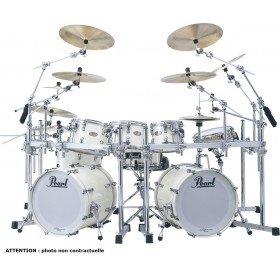 "PEARL REFERENCE Hyper Rock 22"" Arctic White"